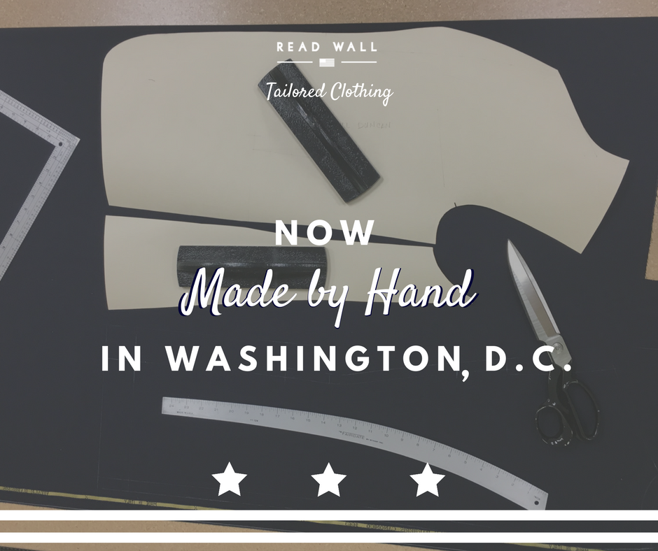 RW Tailored Clothing: Now made in DC.